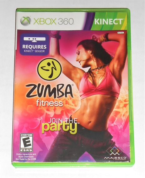Zumba Fitness Join Party Original Xbox 360 Cr $15
