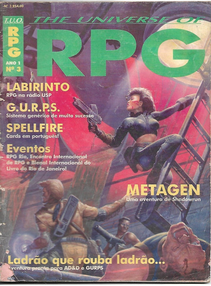 The Universe Of Rpg Ano 1 N. 3 - Ediouro