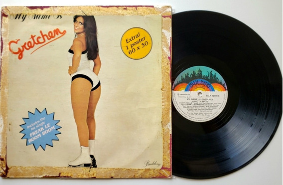 Lp Vinil Gretchem - My Name Is - Nac 1979 - Ex/g