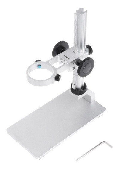 Suporte Base Alumínio Microscópio Digital G600 Display