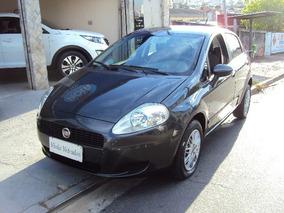 Fiat Punto Attractive 1.4 Cinza 2011