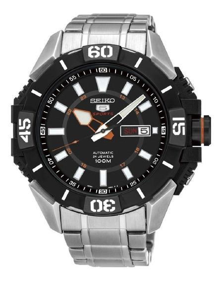 Relógio Seiko Masculino 5 Sports Aço Original Srp795b1 P1sx