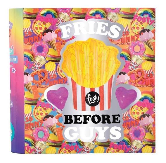 Carpeta Donuts/ Papas Fritas Holograma Nº 3- Footy Oficial