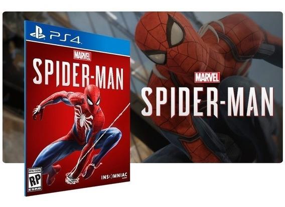 Marvels Spider-man Homem Aranha Ps4 Original Primaria Em Português