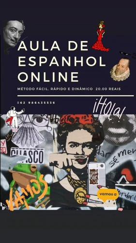 Imagem 1 de 1 de Aulas De Espanhol Online Ou Presencial