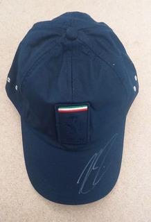 Jockey Ferrari F1 Autografiado Por Kimi Raikkonen