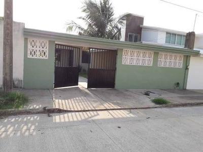 Casa Venta Col Puerto Mexico 10x28 Terreno 280 Mts 2