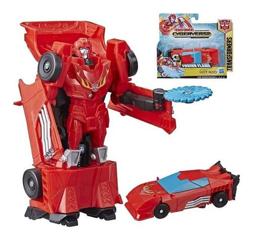 Boneco Hot Rod 10 Cm - Transformers Cyberverse Hasbro E3522