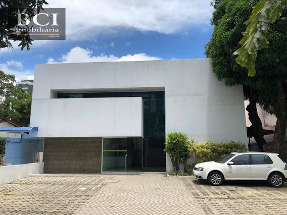 Casa Para Alugar Ideal Para Comercio, Por R$ 20.000/mês - Encruzilhada - Recife/pe - Ca1299
