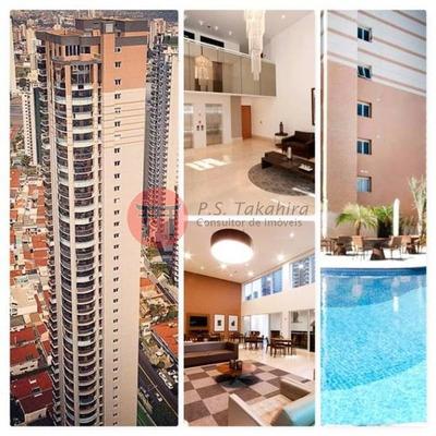 Apartamento Em Condomínio Alto Padrão Para Venda No Bairro Jardim Anália Franco, 3 Suíte, 6 Vagas, 258 M De Área Útil. - 4226