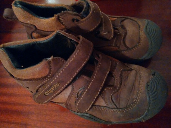 Zapatos Botines Para Niños Talla 28 Gigetto