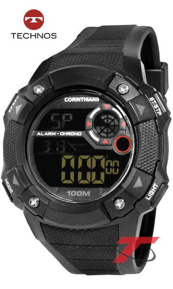 Relógio Technos Do Corinthians Cor1360a/8p