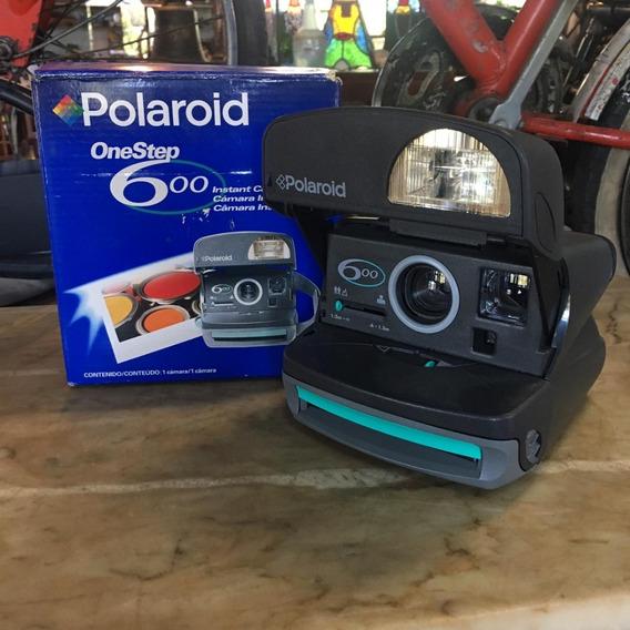Polaroid One Step 600 Antiga Máquina Câmera Fotográfica 801