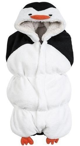Costalito Porta Bebe Suave Microfibra Calientito Pinguino