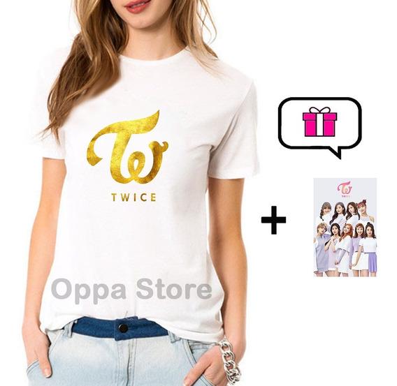 Remera K-pop Twice Mujer Hombre Niños + Sticker De Regalo!!