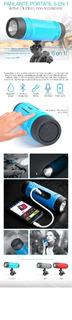 Parlante Active Outdoor Kolke Bt 5 En 1 Kop-016 Color Azul