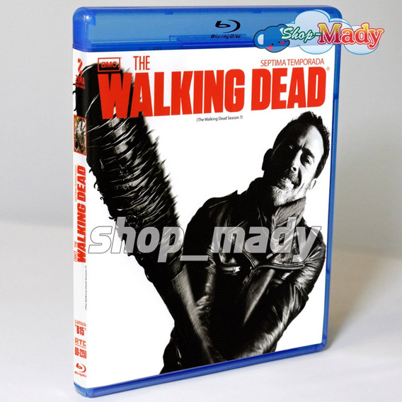 The Walking Dead Septima Temporada Blu-ray Reg. A, B, C