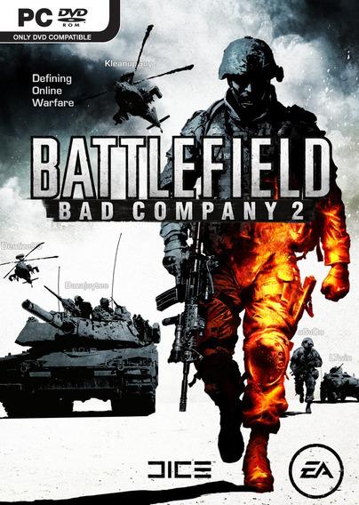 Jogo Novo Lacrado Battlefield: Bad Company 2 Para Pc
