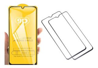 Mica Cristal Templado Xiaomi Redmi Note 8 9d 2 Piezas.