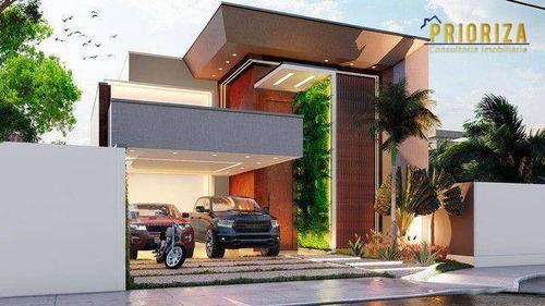 Imagem 1 de 6 de Casa Com 3 Dormitórios À Venda, 370 M² Por R$ 1.680.000,00 - Condomínio Ibiti Do Paço - Sorocaba/sp - Ca0480