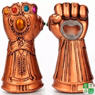 Destapador Thanos Guantelete Nuevo Resistente Envío Gratis