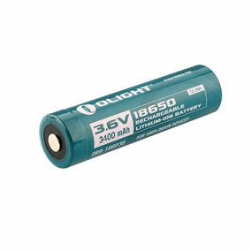 4pc Bateria Olight 18650 3400mah Recarregável Protegida