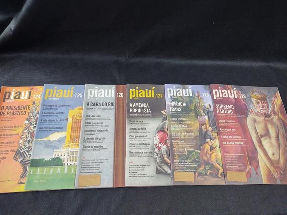 Coleção 12 Revistas Piaui Ano 12 Janeiro 124 A Dezembro 135
