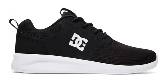 Zapatillas Dc Midway Sn Vn Hombre 1201112097