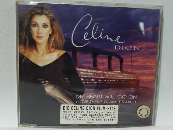 Cd Single Celine Dion My Heart Will Go On Germany Slim