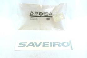 W462 Adesivo Emblema Saveiro Preto Original 5u7853415 //