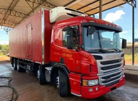 Scania P310 Ano 2015 Com Bau Refrigerado Entrada + Parcelas