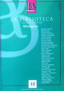 Revista La Biblioteca N 12 Critica Literaria Bn Stelmo