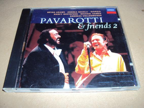 Pavarotti & Friends 2 - Varios - Cd Made In Usa 1995