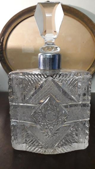 Antigo E Raro Perfumeiro Cristal Baccarat Lrd5