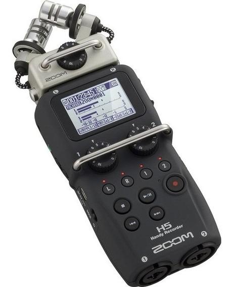 Gravador Digital Zoom H 5 Handy Recorder