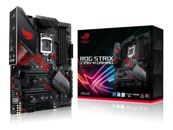 Board Asus Strix Z390 - H Gaming Intel Socket 1151 9na Gen