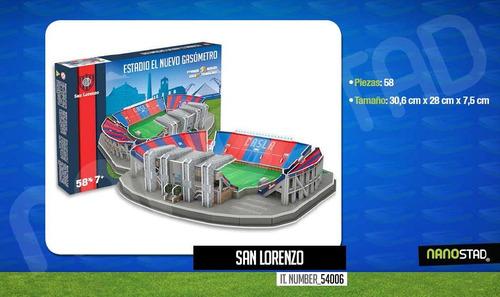 Maqueta Estadio 3d Armada !!! San Lorenzo El Ciclon