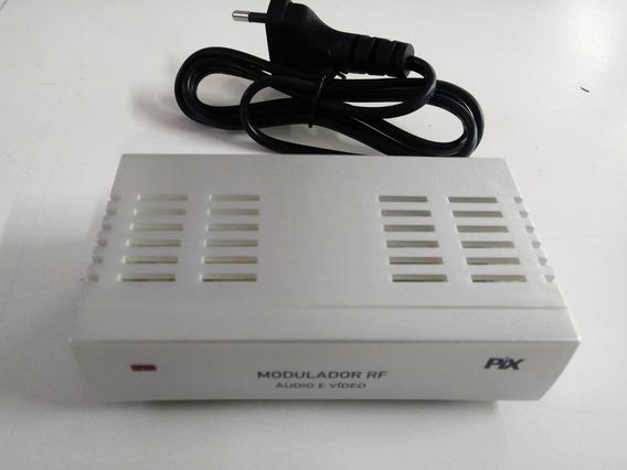 Modulador Rf Conversor De Audio E Video - F Para Rca