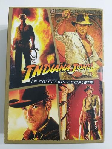 Dvd Indiana Jones (la Colección Completa)