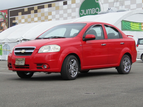 Chevrolet Aveo Emotion Mt 1600cc Aa 2ab Abs