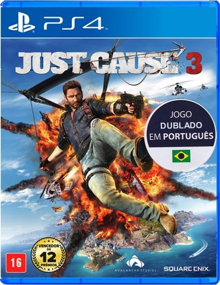 Just Cause 3 - Português - [ps4] Lacrado