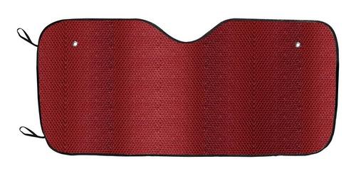 Parasol Parabrisas Metalizado Rojo Grande Universal Vexo