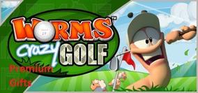 Worms Crazy Golf Steam Original Pc Online Frete Grátis!!