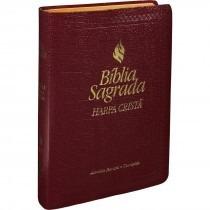 Bíblia Capa De Couro De Luxo.