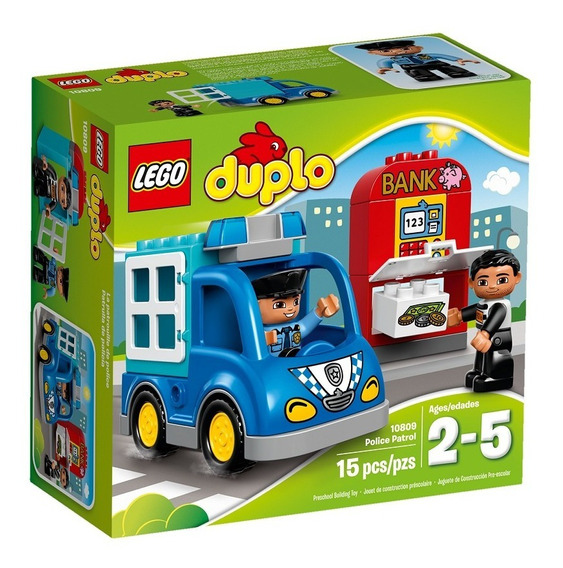 Lego 10809 Patrulla De Policia
