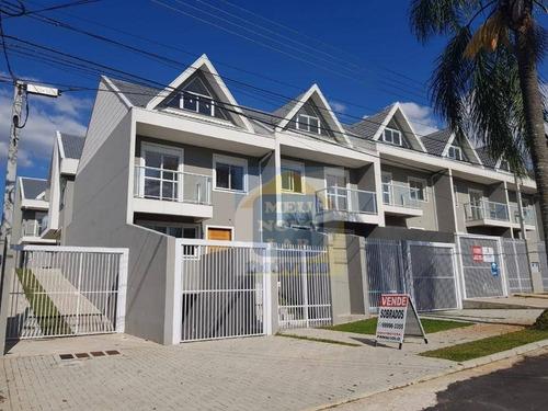 Sobrado Com 3 Dormitórios À Venda, 147 M² Por R$ 550.000,00 - Barreirinha - Curitiba/pr - So0245