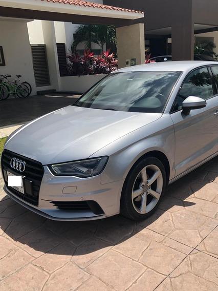 Audi A3 1.4t Sedán Ambiente Ta 2016 Plata