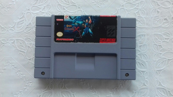 Castlevania Dracula X Original | Snes - Label Original