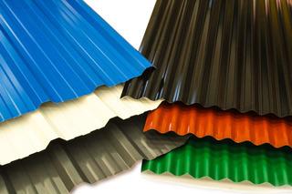Chapa Techo Color C25. Acanalada Y Trapezoidal Amplio Stock