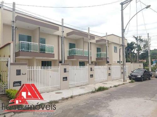 Casa Duplex 1ª Locação  2 Quartos  Cg/rj - Ca0014